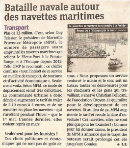 "26-03 article ""Batobus"" dans Metronews"