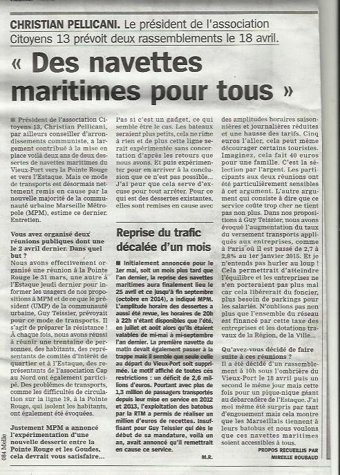 7.04.2015 article marseillaise batobus